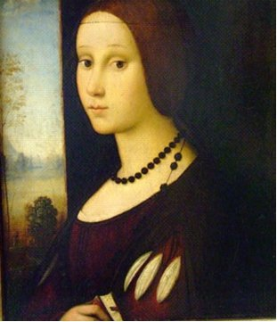 La regina bosniaca Katarina Kosaca Kotromanic